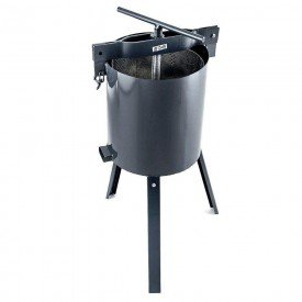 4551 prensa manual para banha torresmo media capacidade 12 litros zatti