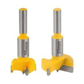 kit de fresas 26 e 35mm com 2 dentes de metal duro para dobradica tipo caneco vonder