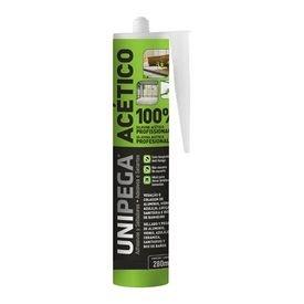 12561 silicone acetico multiuso preto 280 ml uso profissional unipega