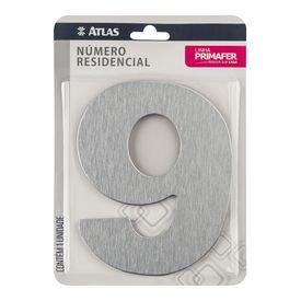 11787 numero residencial de aluminio com adesivo de fixacao n 9 primafer atlas