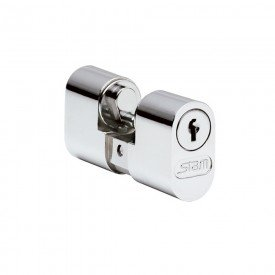 10452 cilindro gorje cromado 803 804 1801 com parafuso e 2 chaves stam