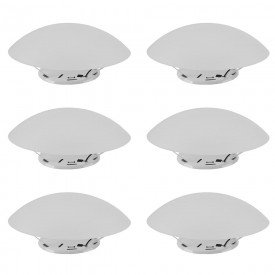 6895 06 plafon solari redondo plastico branco e 27 30w 06 unidades taschibra