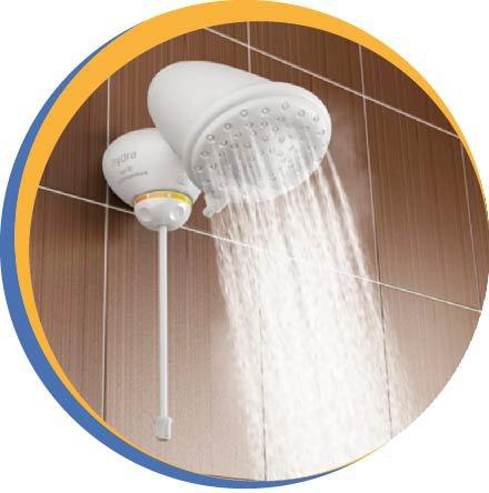 Chuveiro Hydra instalar banheiro ligado