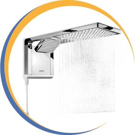 Chuveiro Lorenzetti Acqua duo shower eletrônico