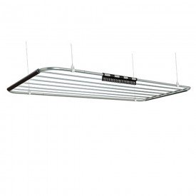 12986 varal de teto nice em aluminio 1 20m x 0 56m 6 varetas com corda secalux