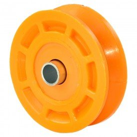 roldana portao nylon laranja