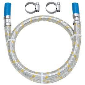 ligacao flexivel 1 25m para instalacao de gas com espigao de 3 8 blukit 0001 182503